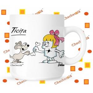 Taza Ticita perro