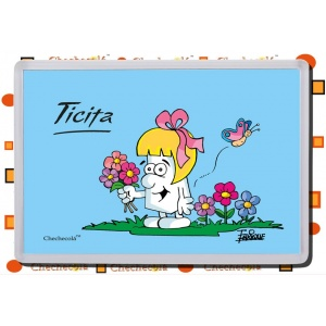 "Iman rectangular Enrique ""Ticita flores"""