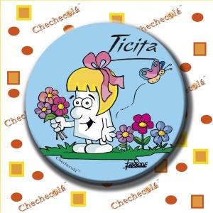 "Abrebotellas con imán Enrique ""Ticita flores"""