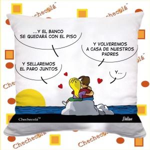 "Cojín Enrique San Valentín  ""Isla """
