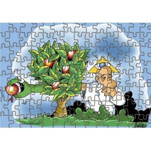 Puzzle Dios manzana