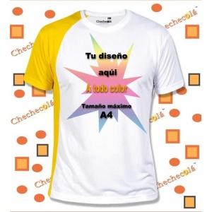 Oferta camiseta técnica personalizable