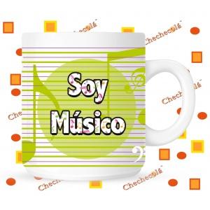 Taza Yo soy músico