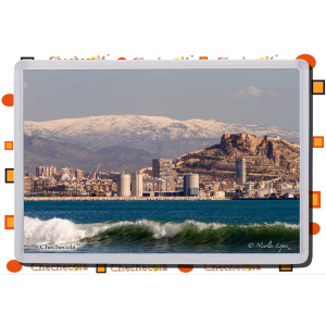 "Iman rectangular Nicolás ""Alicante y Sierra Aitana"""