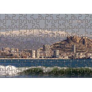 Puzzle Alicante y Sierra Aitana